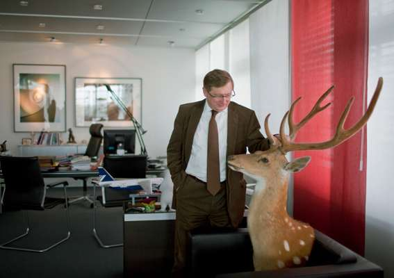 Michael Kerkloh, CEO of Munich Airport, and friend