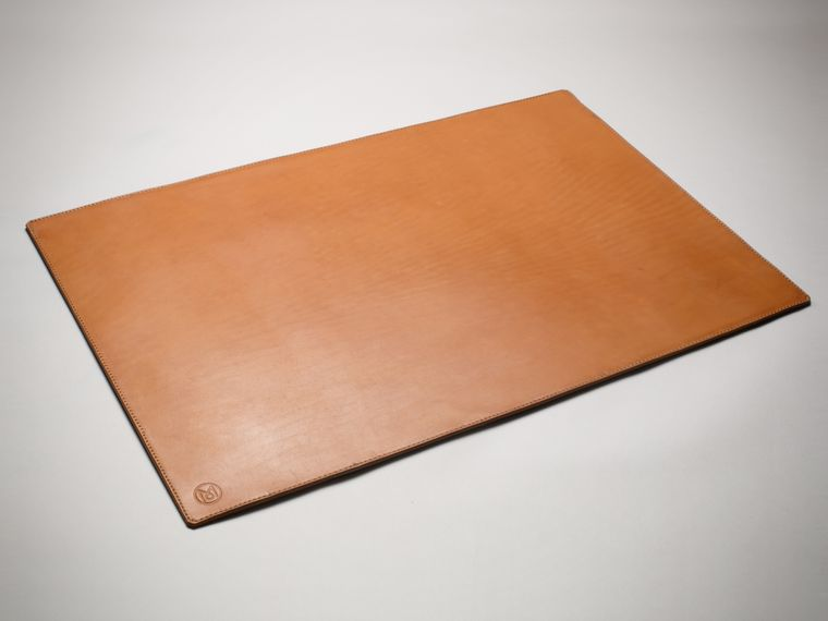 Monocle Leather Desk Mat