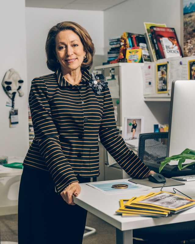 Editor in chief Susan Goldberg