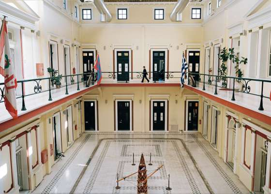 HQ of Piraeus naval academy interior