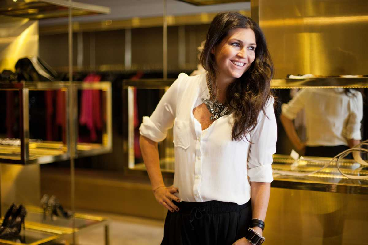 Natalie Klein founder of the NK boutique
