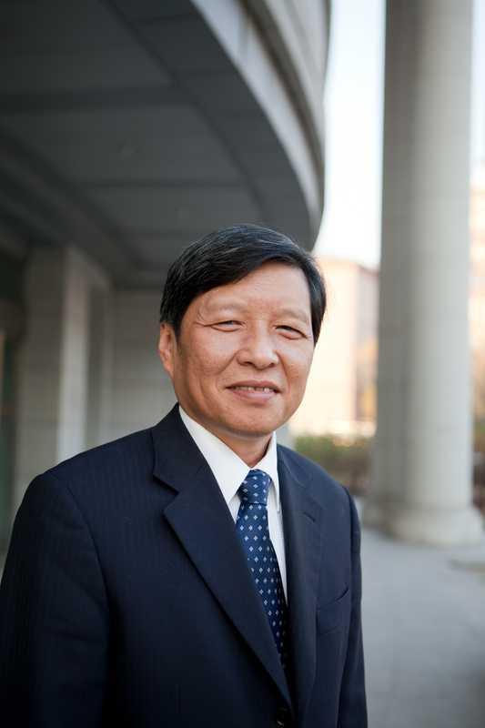 Harbin Institute of Technology's president, Wang Shuguo