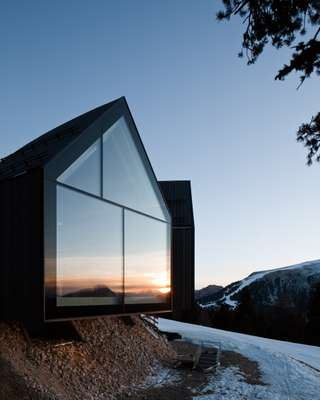 Large glass façades afford spectacular views