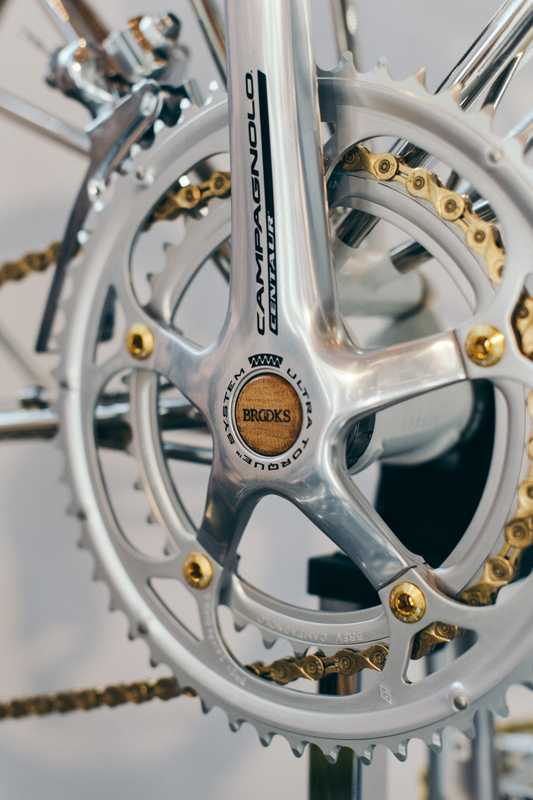 Detail of Moulton Bike
