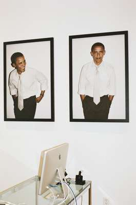 Barack Obama by Terry Richardson