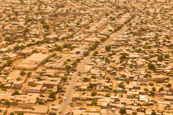 Djibouti from the air