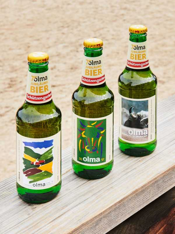 Anniversary-themed Olma beer