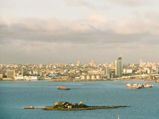 Montevideo's skyline