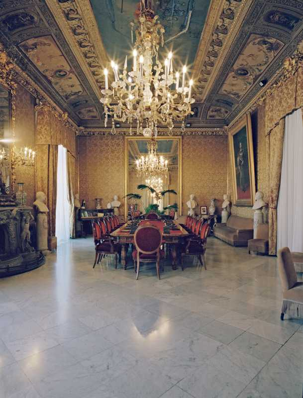 Meeting room in the Palazzo delle Aquile