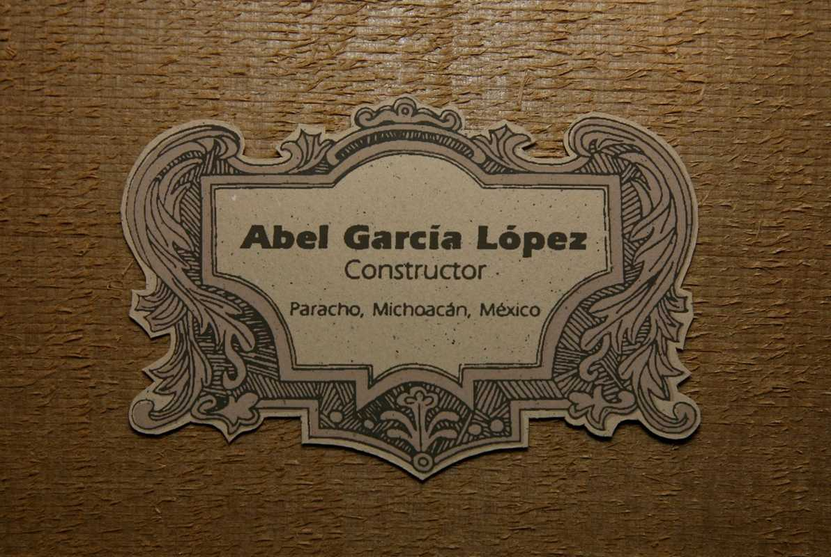 García's trademark label