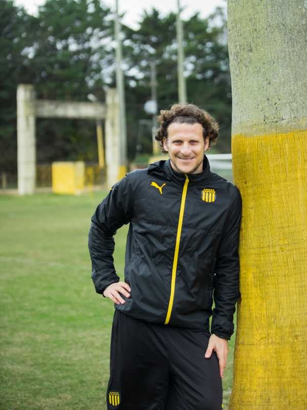 Football player Diego Forlán