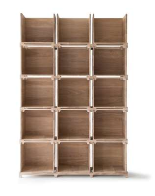 Post Office shelving system by Pinch