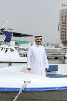 Major Ahmed Ebraheim Alblooshi, managing director, Fujairah International Marine Sports Club