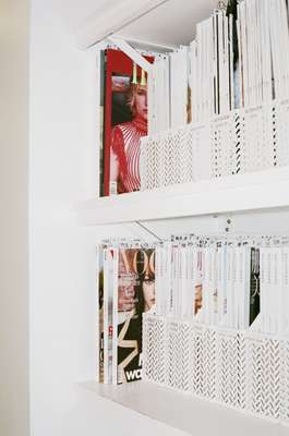 Archive of magazines featuring work by Art Partner's artists