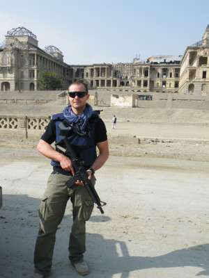 Ben Soames, former Royal Marine commando and founder of Fox Delta
