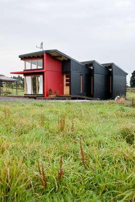 An eco-friendly house built by the pair