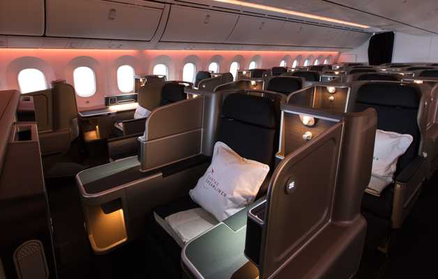 Onboard the Qantas Dreamliner
