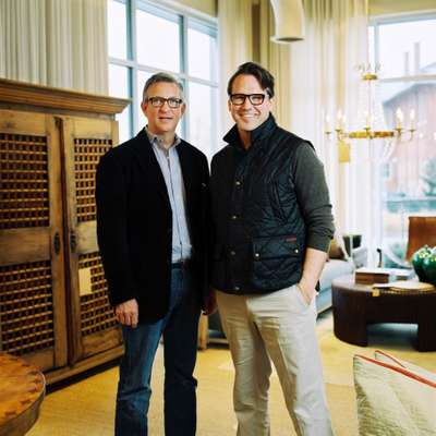 Billy Woodall (left) and Rodney Simmons of design store Revival