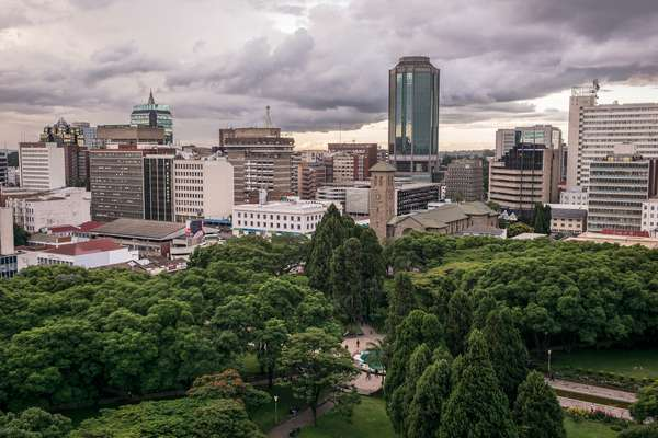 Downtown Harare