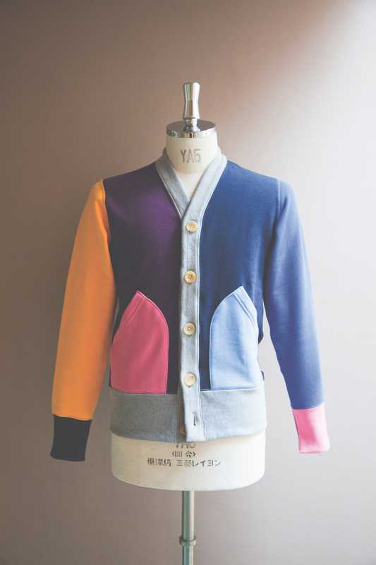 Cardigan from the spring collection