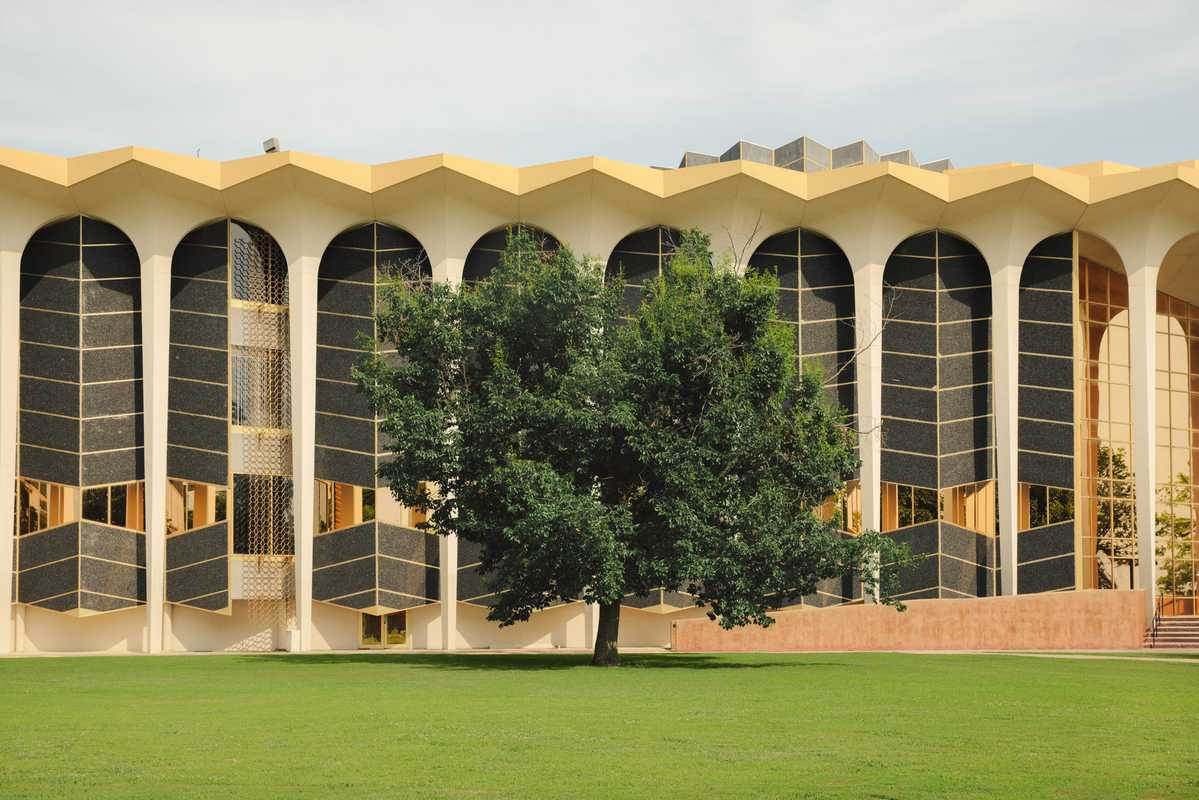 Campus of the evangelical Oral Roberts University