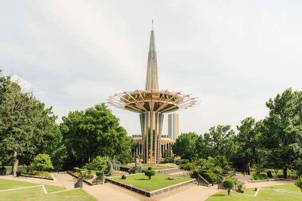 Prayer Tower at Oral Roberts University