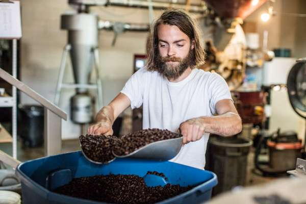 Sam Hill of Java Blend Coffee Roasters