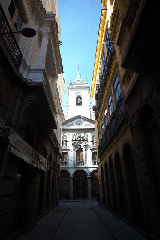 Church in rua do Mercado