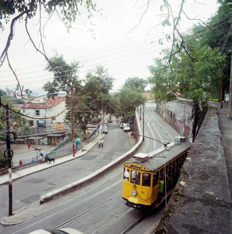 The Bonde (tram) to Santa Teresa
