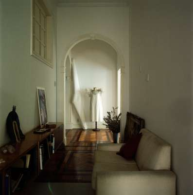 Architect Nanda Eskes's apartment in the Largo do Machado district
