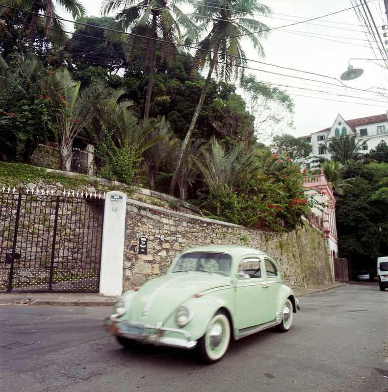 Volkswagen Beetles are ubiquitous on the streets of Rio