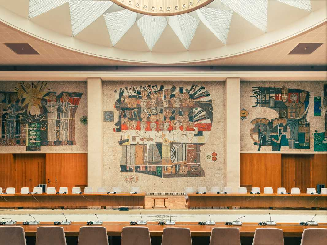 Hall of Yugoslavia, which has  space for 2,000 people