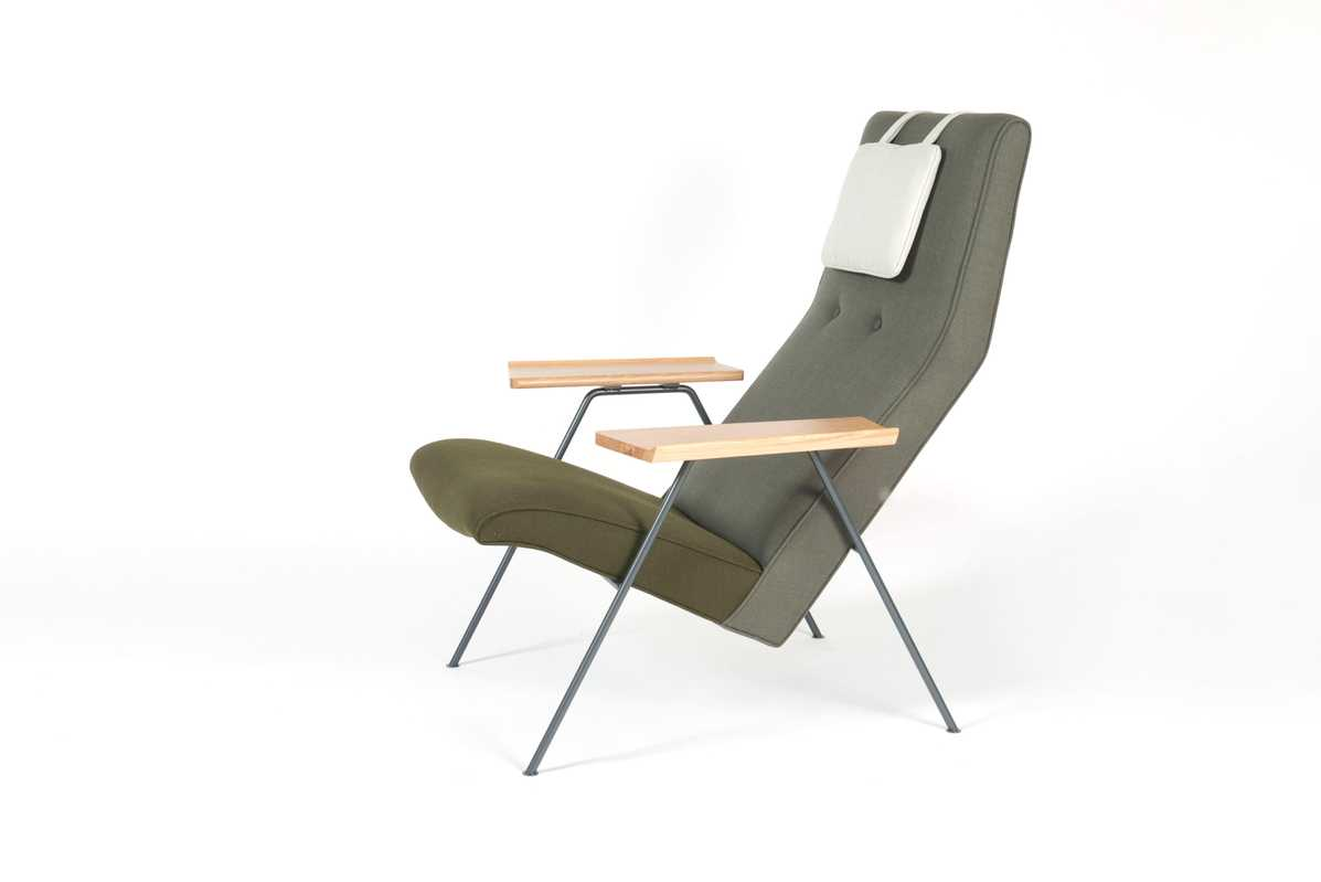 Robin Day chair by UK design duo Barber & Osgerby (€1,820)