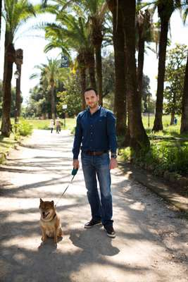 Walkies around Villa Torlonia