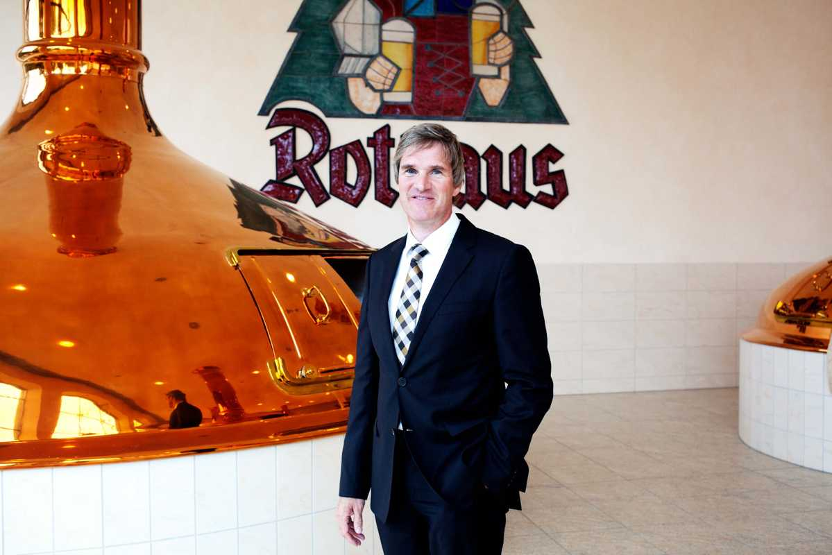 Christian Rasch, CEO of Rothaus