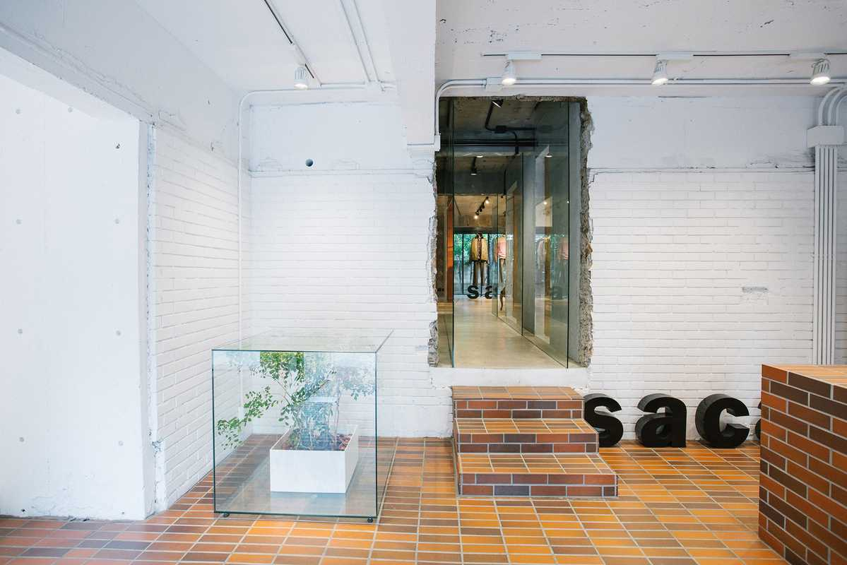 The interiors were designed  by architect Sou Fujimoto