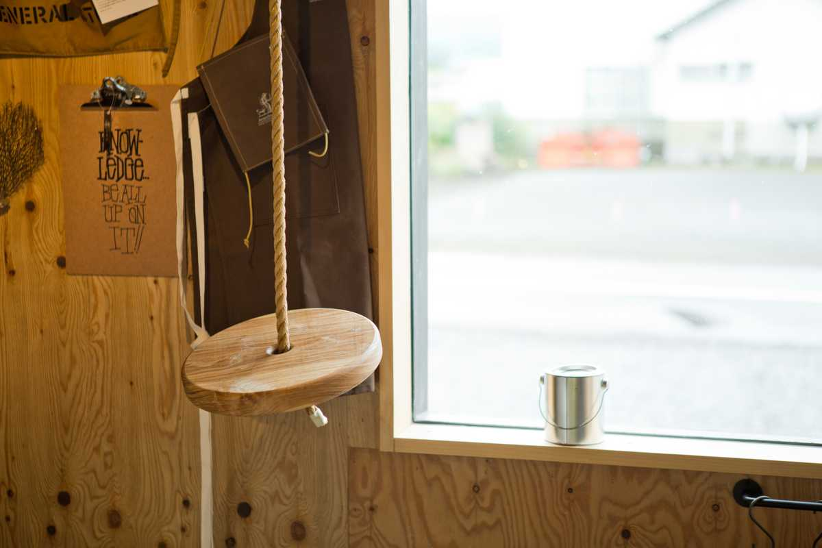 Wooden tree-swing for sale