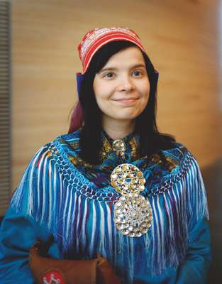 Rauni Äärela, member of the Finnish Sámi parliament