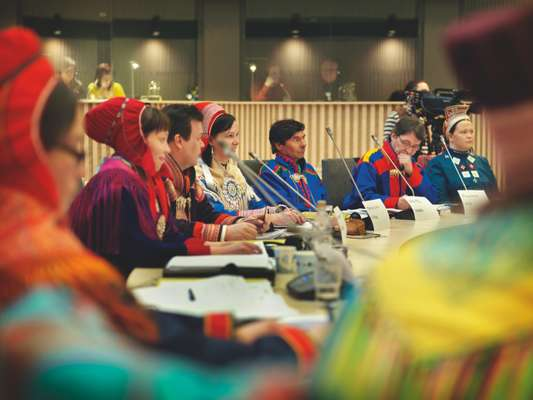 First day of the Finnish Sámi parliament