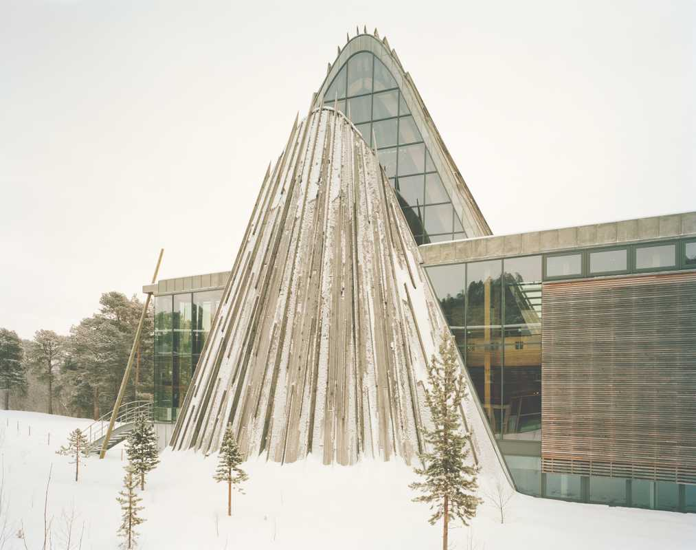 Exterior of Norweigian Sámi Parliament in Karasjok