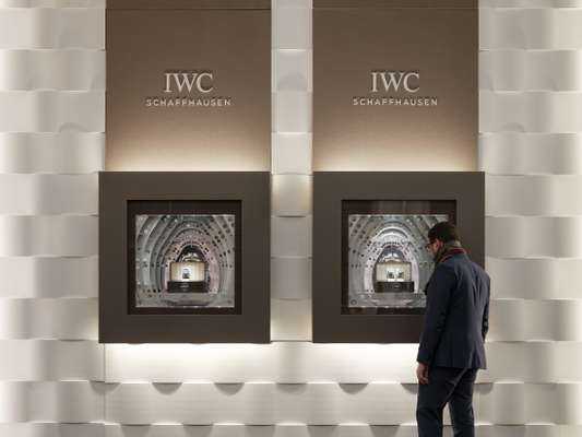IWC's stand at SIHH