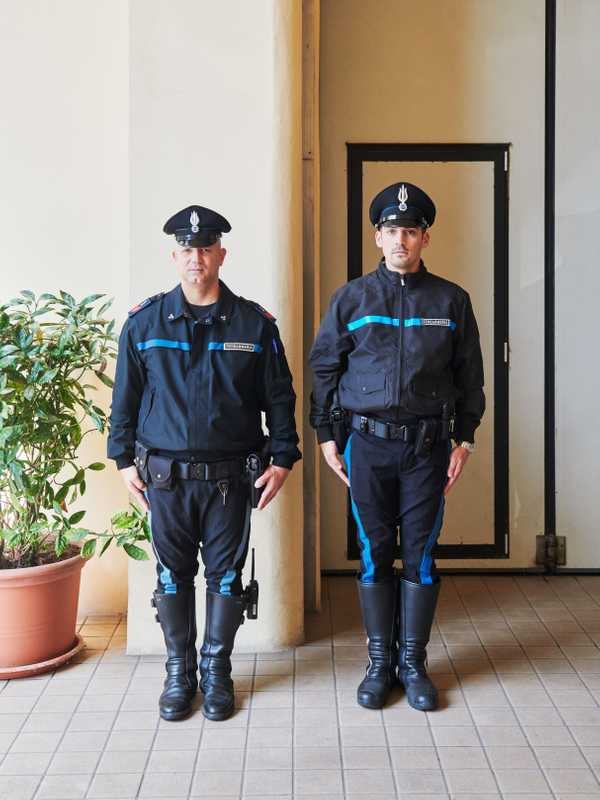 Police officers from the Gendarmerie