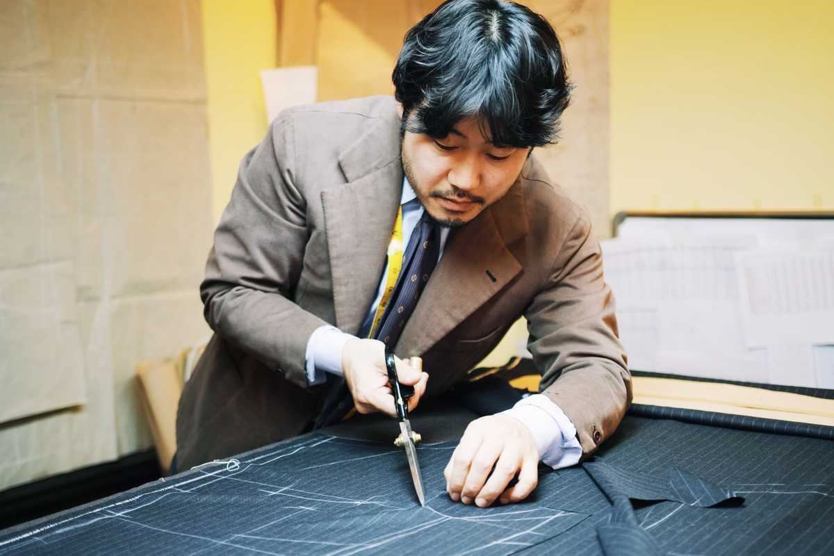 Jun Byung-ha at Sartoria