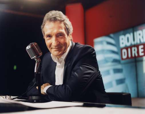 RMC host Jean-Jacques Bourdin