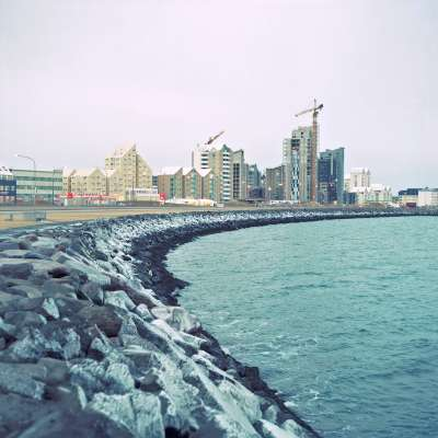 All construction has stopped in Reykjavik