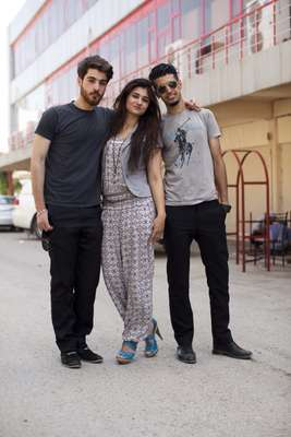 Lalo Tariq Fatih, Terza Omar and Pavel Haider have started a youth newspaper