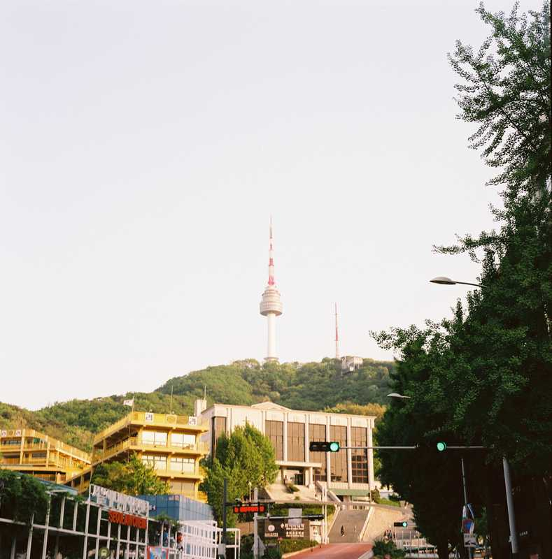 Namasan and N Seoul Tower, built in 1969