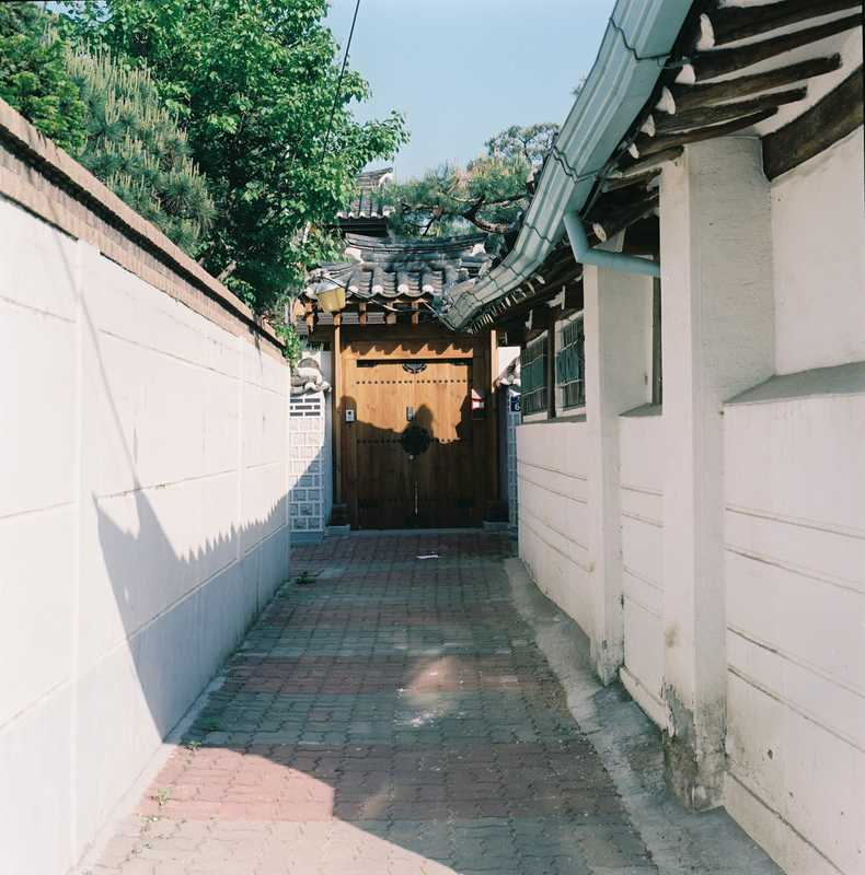 Korean 'hanok' (traditional house)