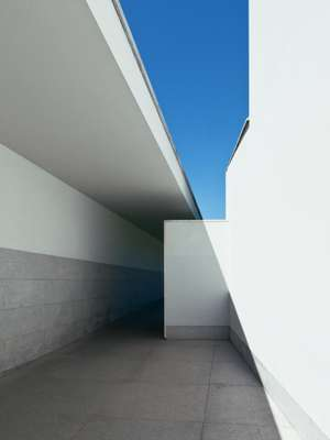 Entrance to the Siza-designed Serralves Foundation museum