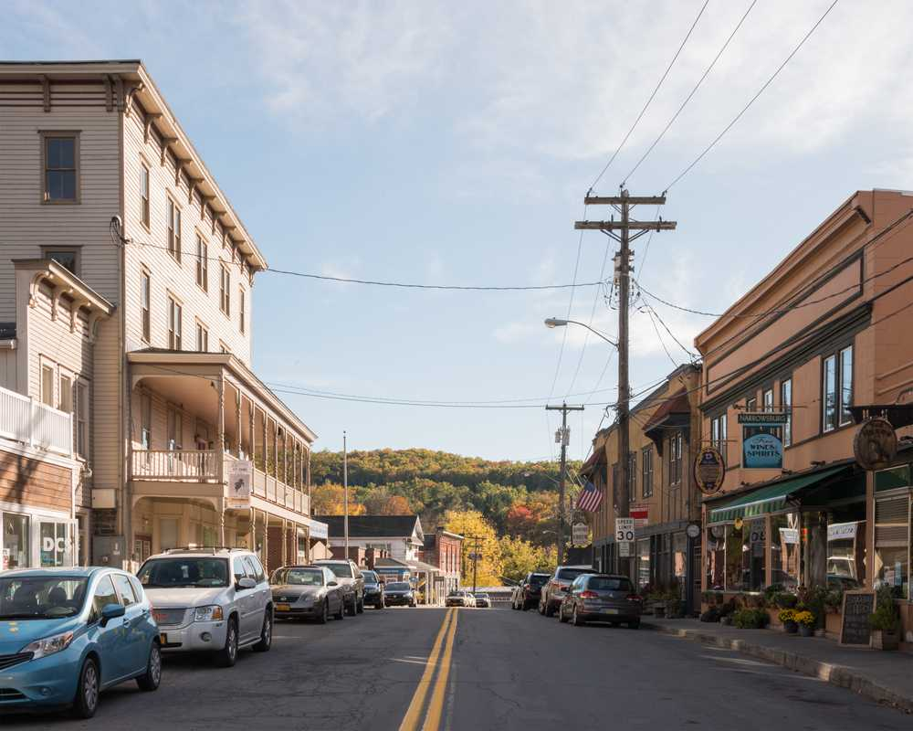 Main Street in Narrowsburg